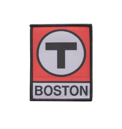 Red Line T Logo Patch