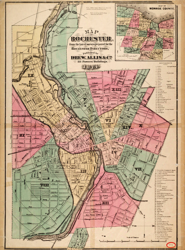 Rochester, New York 1874
