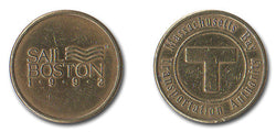 MBTA Sail Boston Token