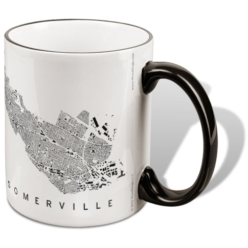Somervile City Plan Mug
