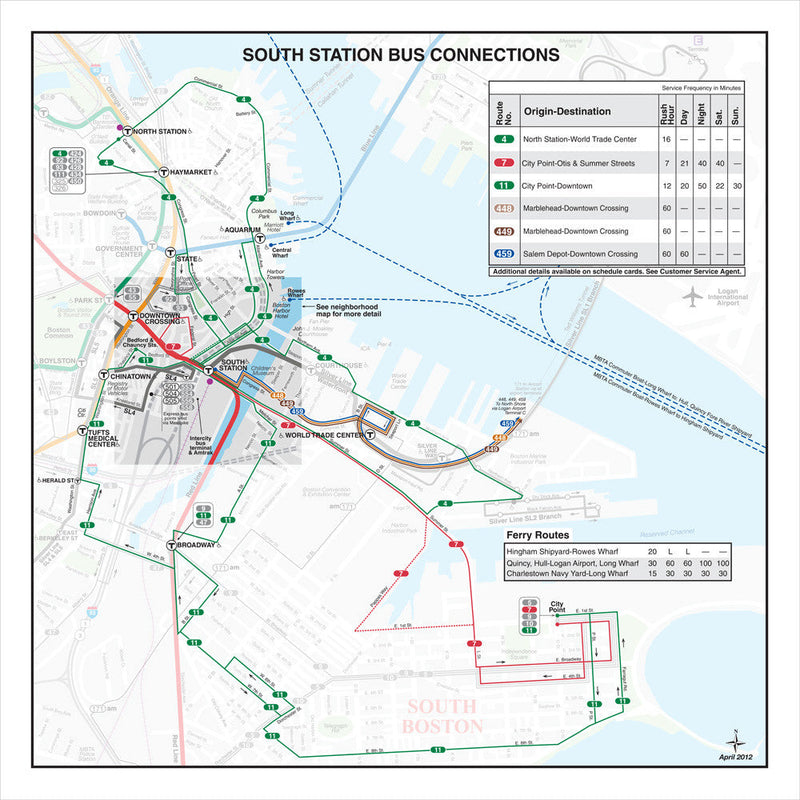 South Station Bus Connections (Apr. 2012)