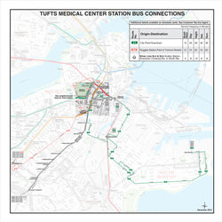 Tufts Medical Center Station Bus Connections (Dec. 2012)