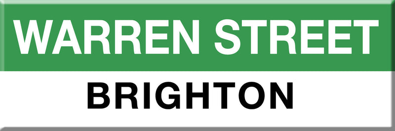 MBTA Green Line Warren Station Magnet