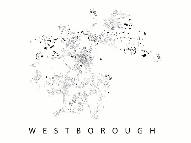 Westborough City Plan Print