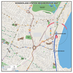 Wonderland Station Neighborhood Map (October 2018)