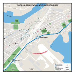 Wood Island Station Neighborhood Map (Jul. 2012)