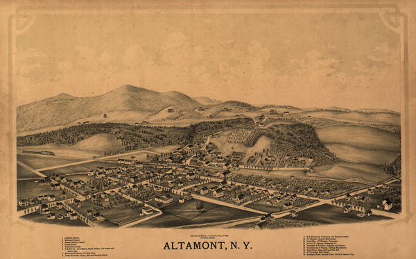 Altamont, New York 1889
