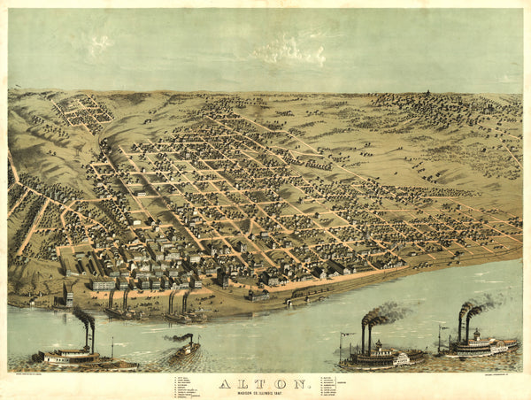 Alton, Illinois 1867