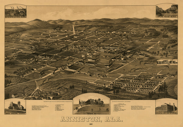 Anniston, Alabama 1887
