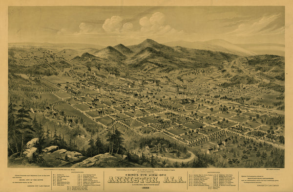 Anniston, Alabama 1888