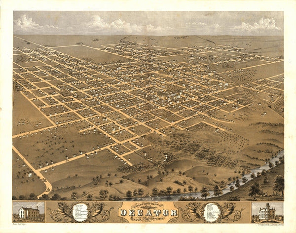 Decatur, Illinois 1869