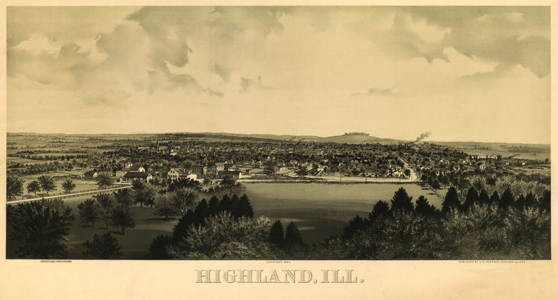 Highland, Illinois 1894