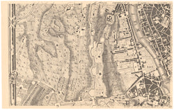 Rome, Italy 1748: Plate A2 (Western Environs)