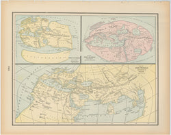 Classical Map 1894: The World According to the Ancients