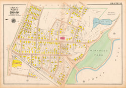 Cambridge, Massachusetts 1916 Plate 033
