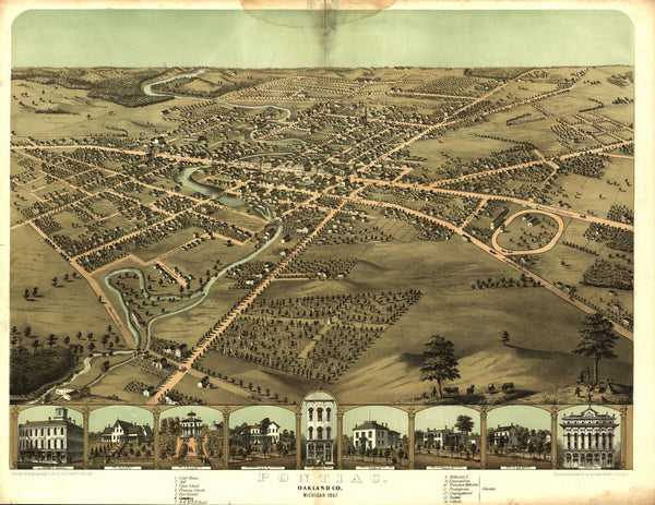 Pontiac, Michigan 1867