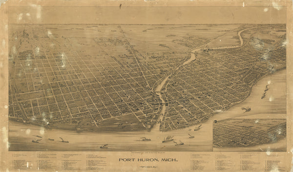 Port Huron, Michigan 1894