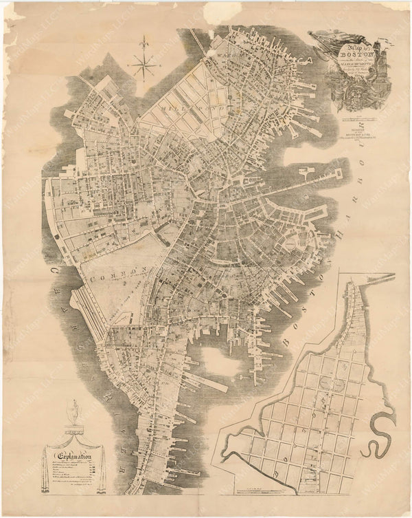 Boston, Massachusetts 1814