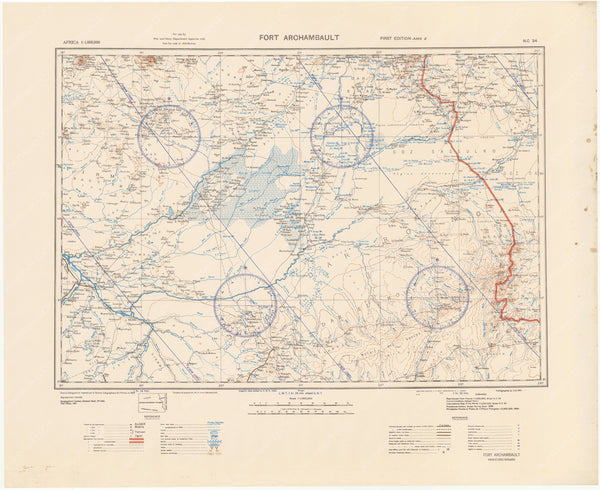 Chad and Central African Republic: Fort Archambault Region 1943