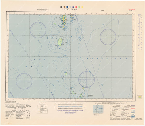 Andaman and Nicobar Islands: Port Blair Region 1944