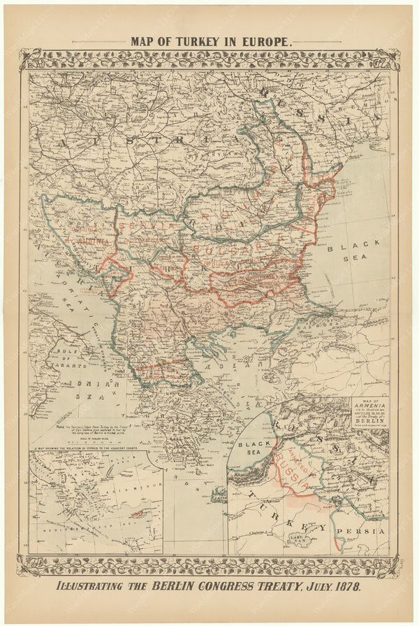 Greece and Turkey in Europe 1882