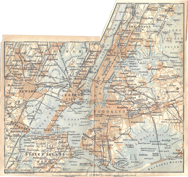 Greater New York City 1909
