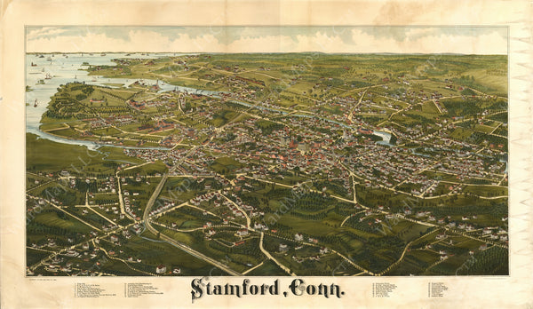Stamford, Connecticut 1883