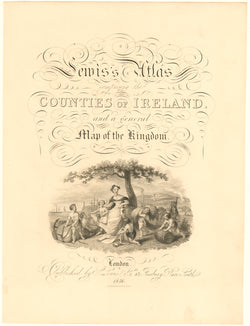 Counties of Ireland 1846 Title Page