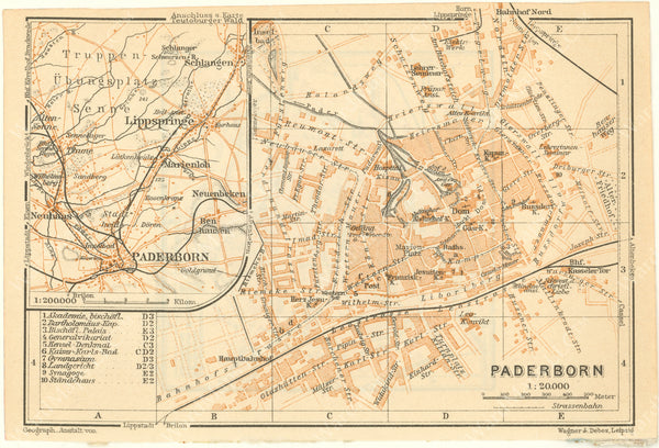Paderborn, Germany 1925
