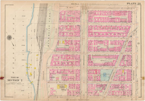Manhattan, New York 1914, Vol. 4, Plate 028