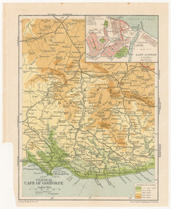 South Africa 1911: Central Cape of Good Hope