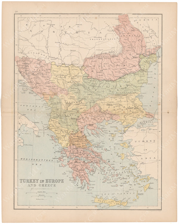 Balkans and Greece 1875