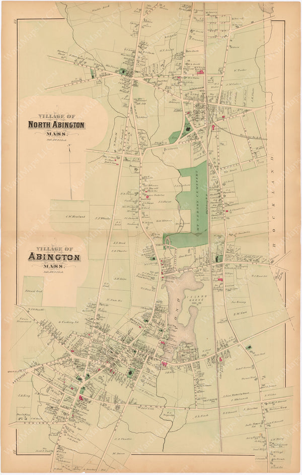 Abington, Massachusetts 1879