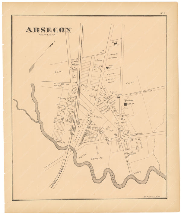 Absecon, New Jersey 1878
