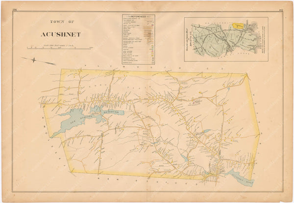 Acushnet, Massachusetts 1895