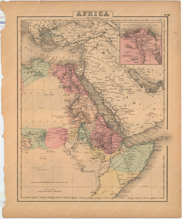 Africa (Northeastern Part) 1857