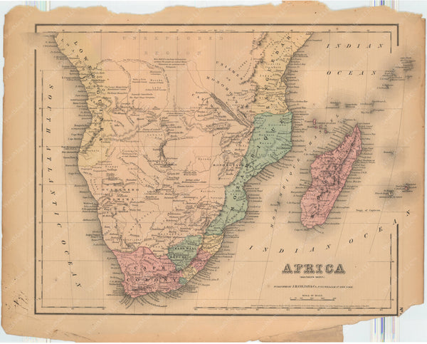 Africa (Southern Part) 1857