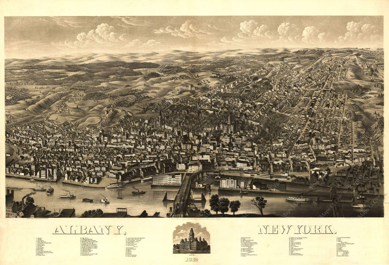 Albany, New York 1879