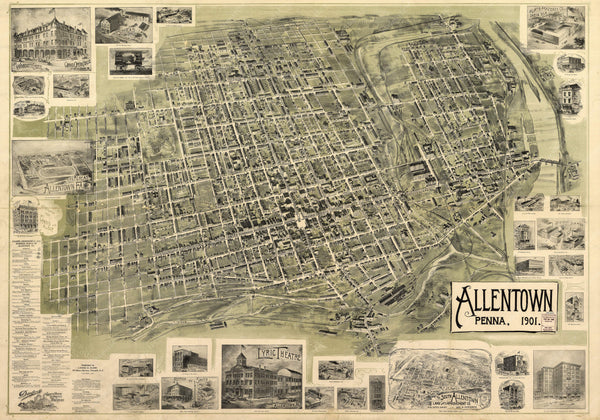 Allentown, Pennsylvania 1901