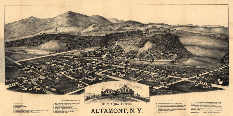 Altamont, New York 1890