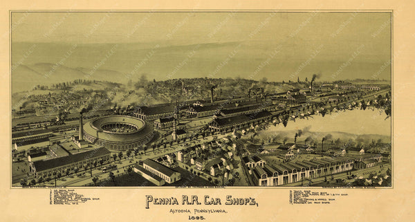 Altoona, Pennsylvania 1895