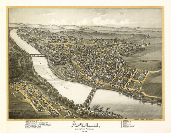 Apollo, Pennsylvania 1896