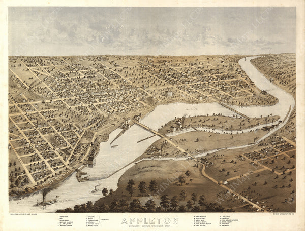 Appleton, Wisconsin 1867