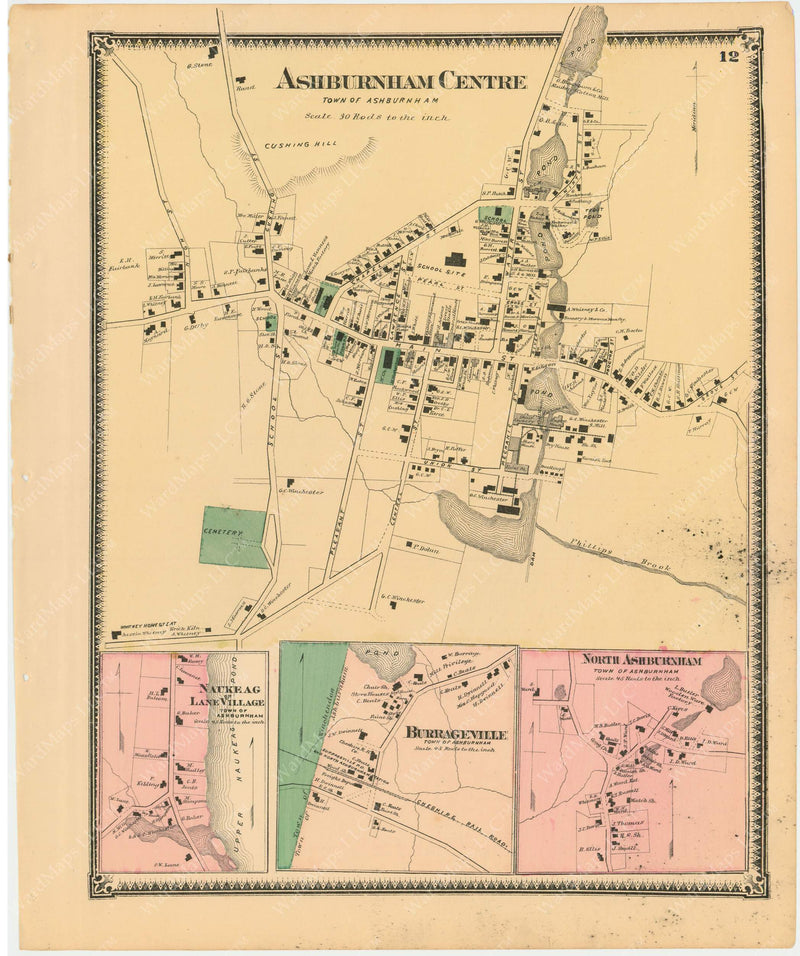 Ashburnham, Massachusetts 1870