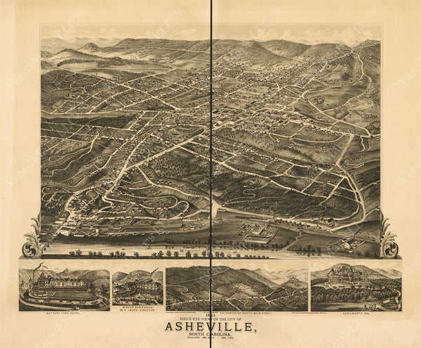 Asheville, North Carolina 1891