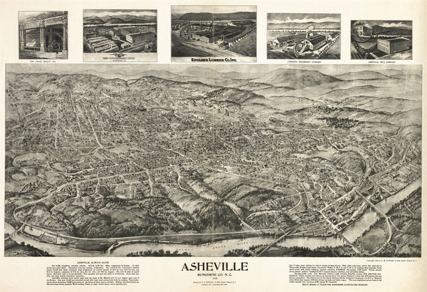 Asheville, North Carolina 1912