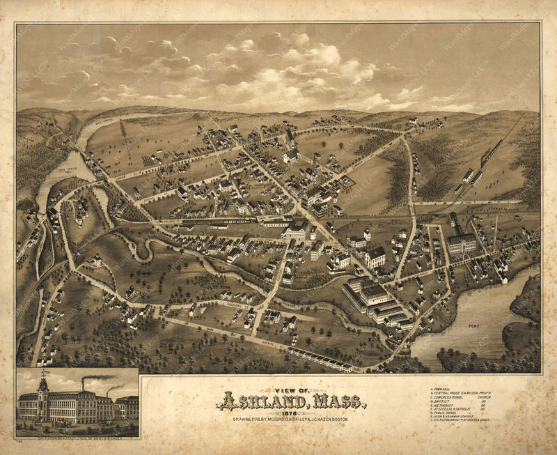 Ashland, Massachusetts 1878
