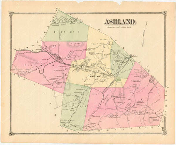 Ashland, Massachusetts 1875