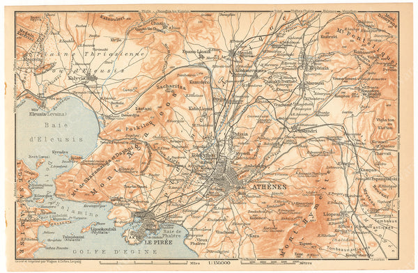 Athens Region, Greece 1911