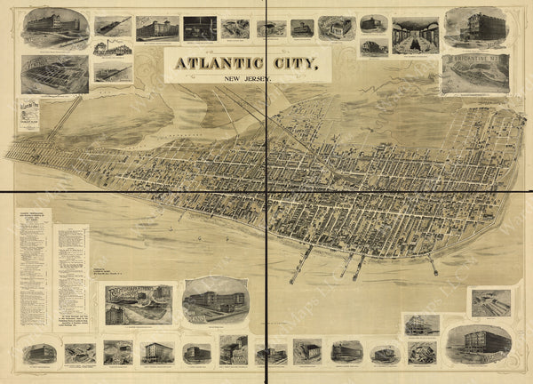 Atlantic City, New Jersey 1900